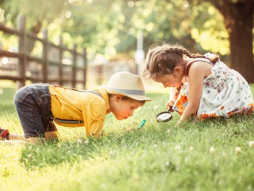 Hva ser du når du ser deg selv i speilet? Ser du det du ønsker å se igjen i barna dine?