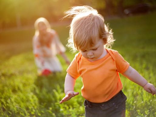 På tur med de yngste barna - hverdagsmagi