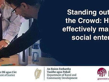 """Webinar: """"Standing out from the crowd"""" How to effectively market a social enterprise"""