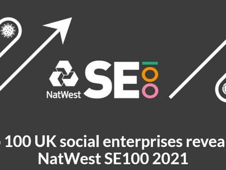 Top 100 UK Social Enterprises revealed