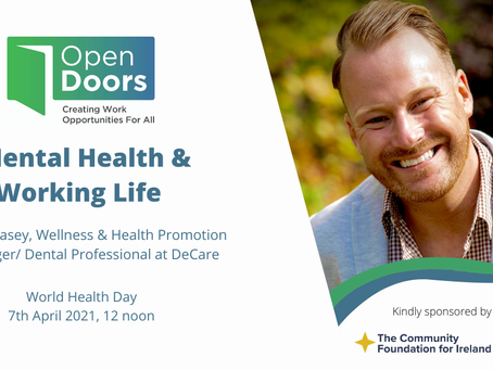 Open Doors Mental Health & Working Life Webinar