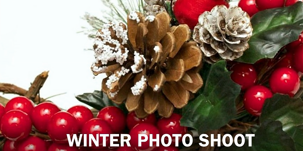 Holiday Photo Shoot - SOLD OUT