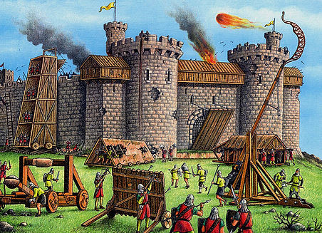 Castle-Siege-Trebuchet-Catapult-Attack2.