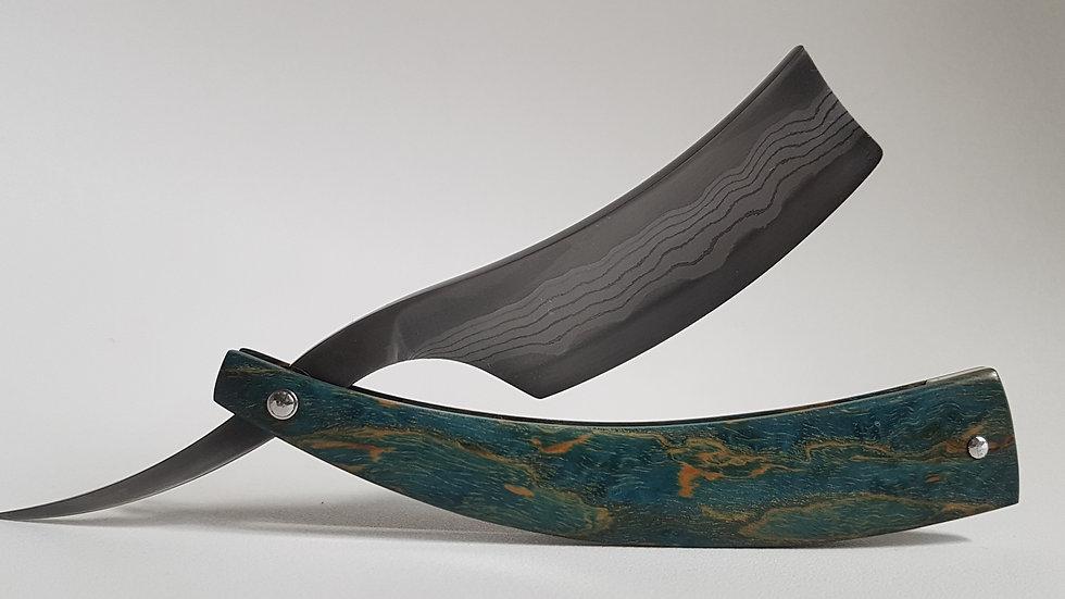 Rasoir custom Suminagashi