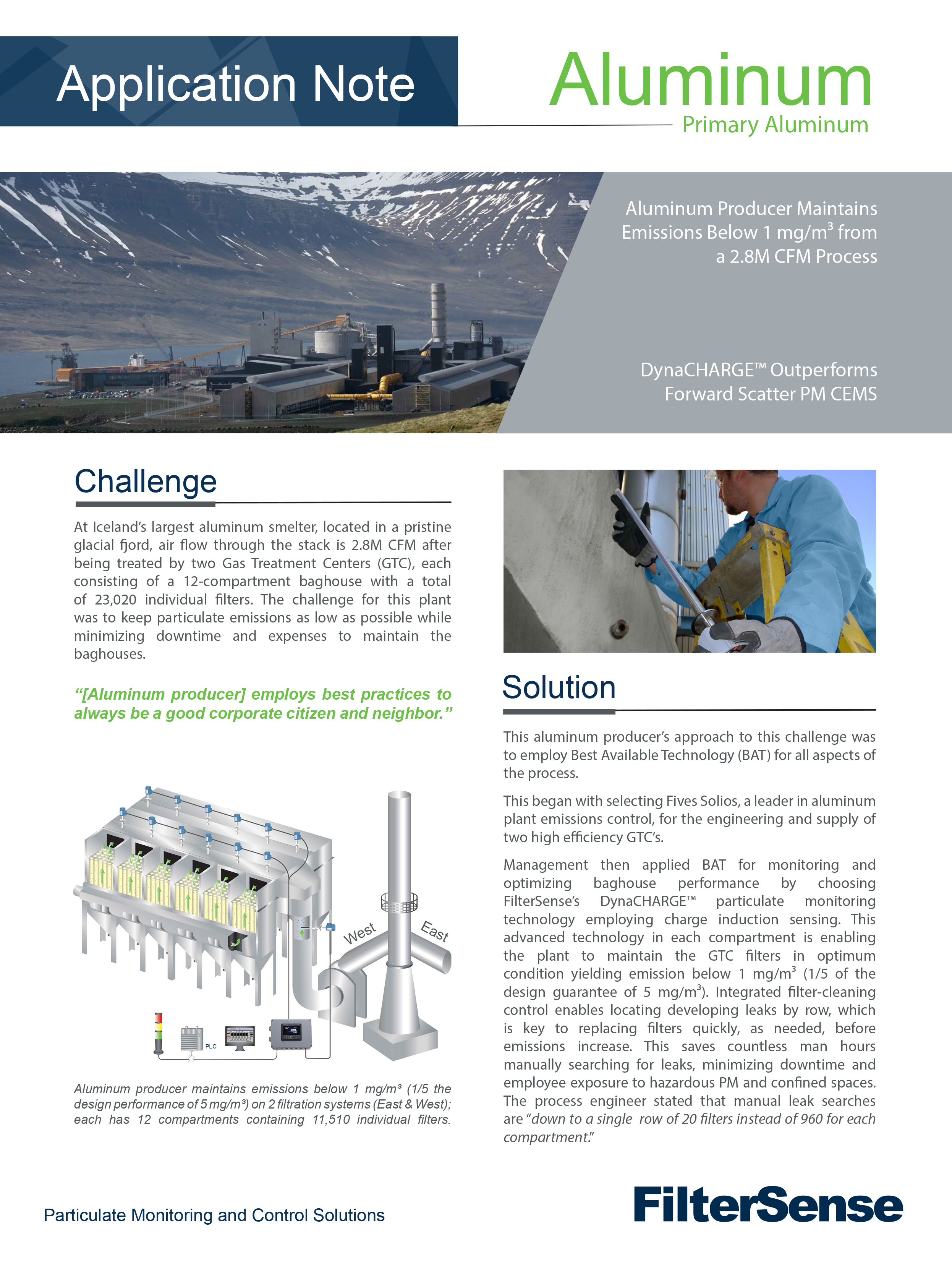 Alcoa Application Note Front