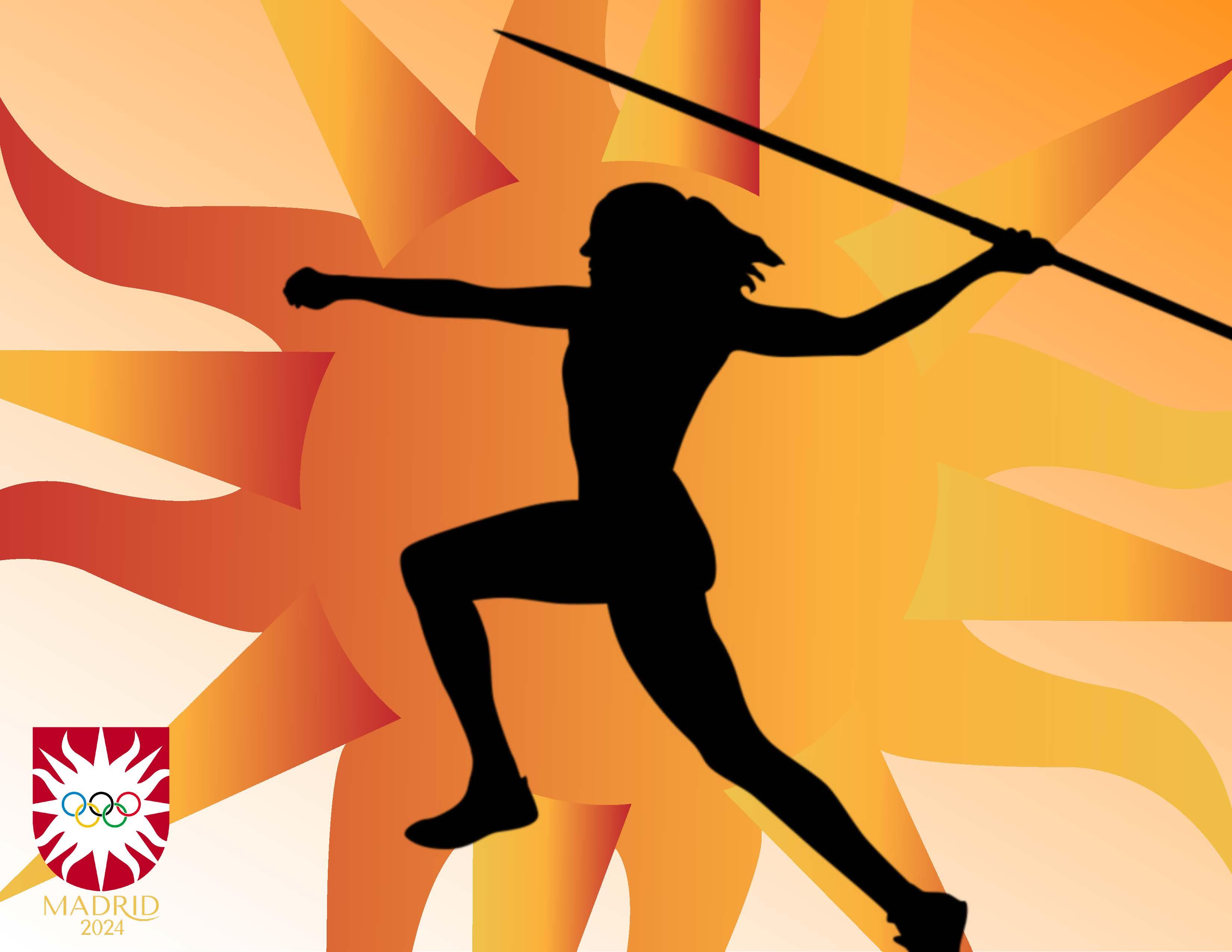 Madrid Olympic Javeline Ad