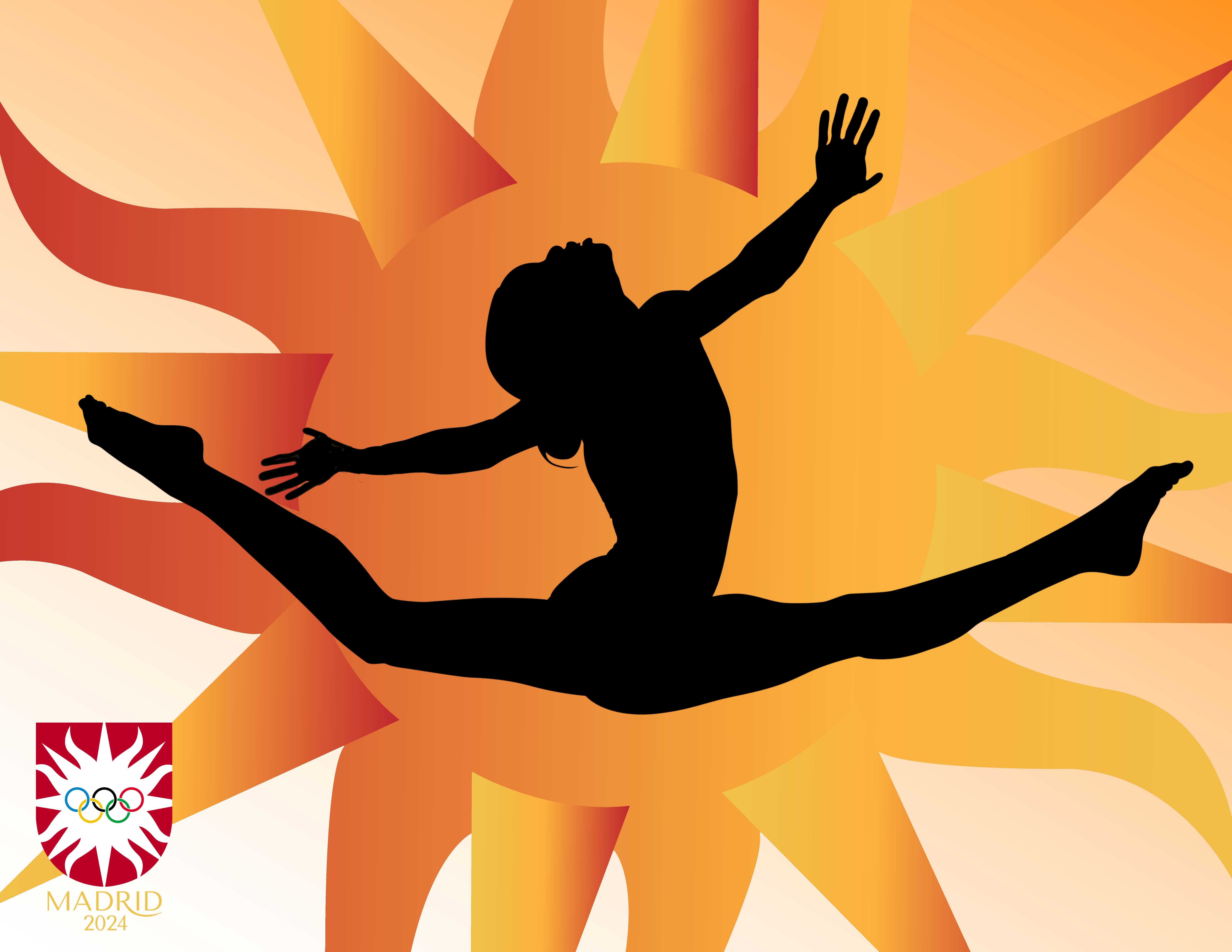 Madrid Olympic Gymnatics Ad