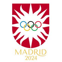 Olympic Games Madrid 2024 Logo