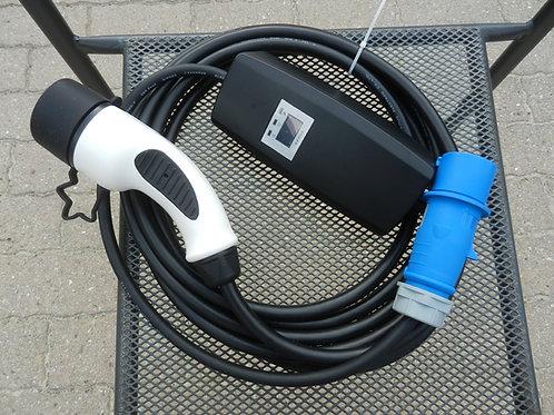 Chargeur portable monophasé 16A (embout Type 2)