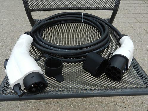 Câble de recharge monophasé 16A (Type 2 – Type 1