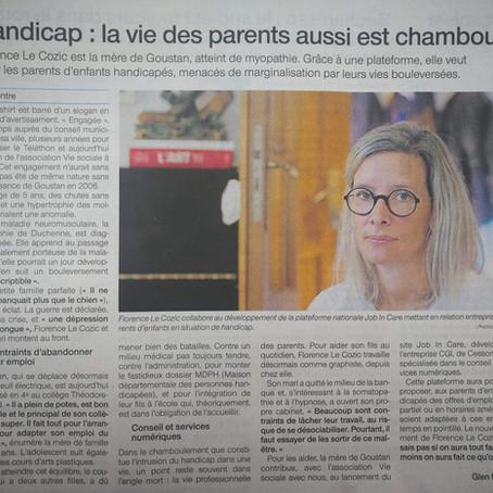 Tribune dans Ouest France