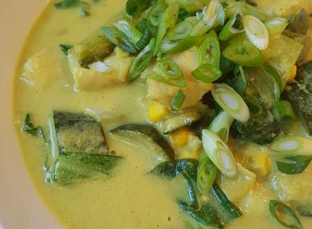 Bulk Prep Lunch: Coconut Fish Curry