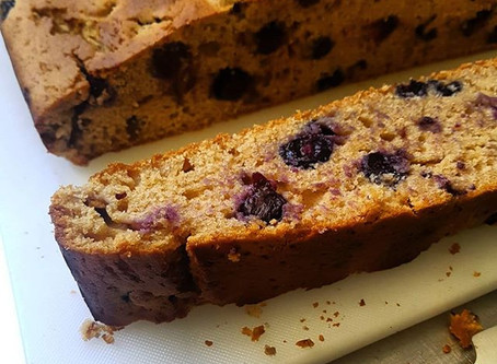 Blueberry + Lemon Cake