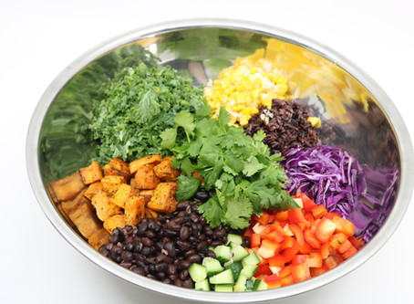 Bulk prep lunch : Mexican Salad