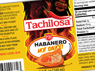 Tachilosa Label Design