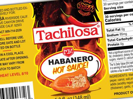 Tachilosa Label Design