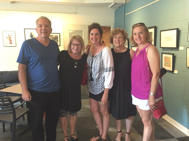 James, LorieLee, Lisa, Gina and Jody