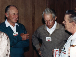 Chuck Yeager with 357th pilots