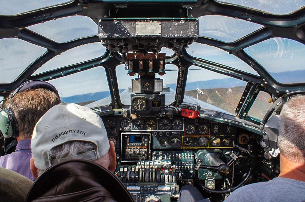 Russ supervising flight operations