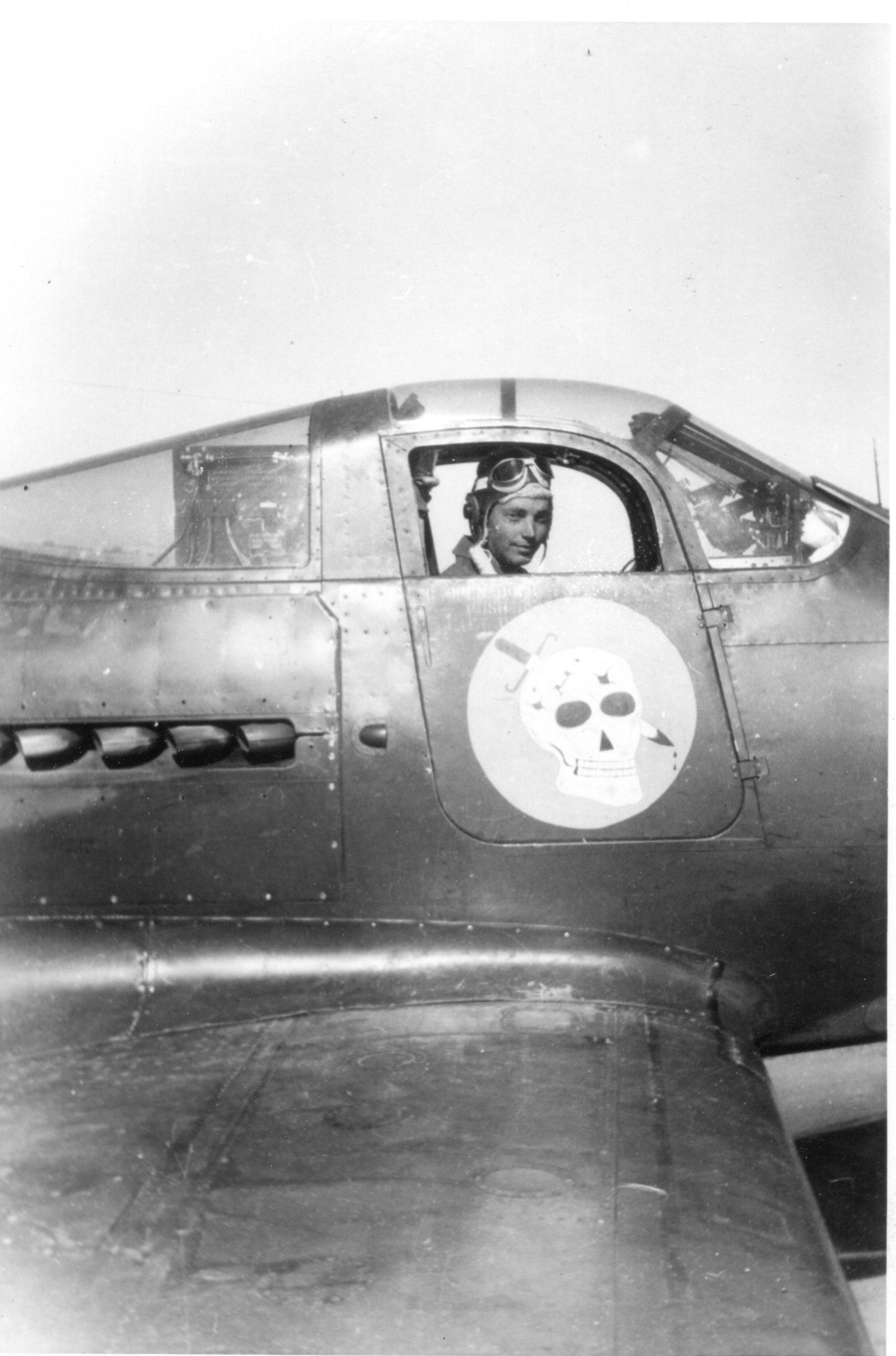 Bill in P-39
