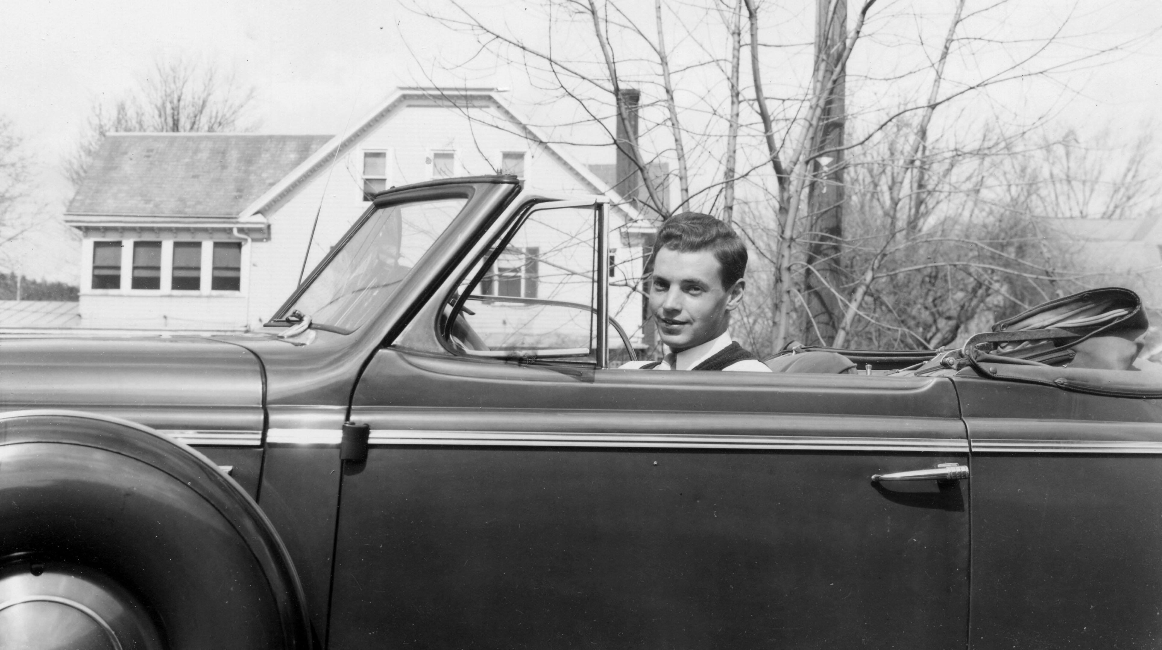 Bill's favorite car, a 38 Buick