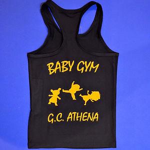 Gym Club Athena sweet vert dos