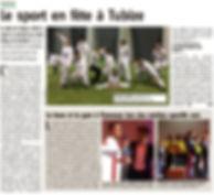 Article l'AVENIR sur gym club athena