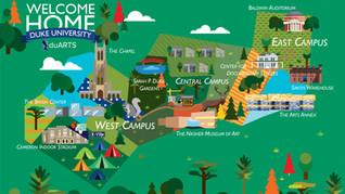 Duke Arts Map!