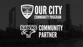 River City Futsal welcomes Mt Gravatt Hawks to Our City Program
