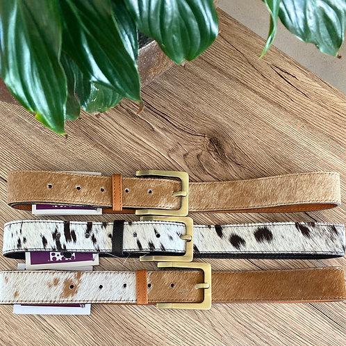 Ladies Medium Leather Belts