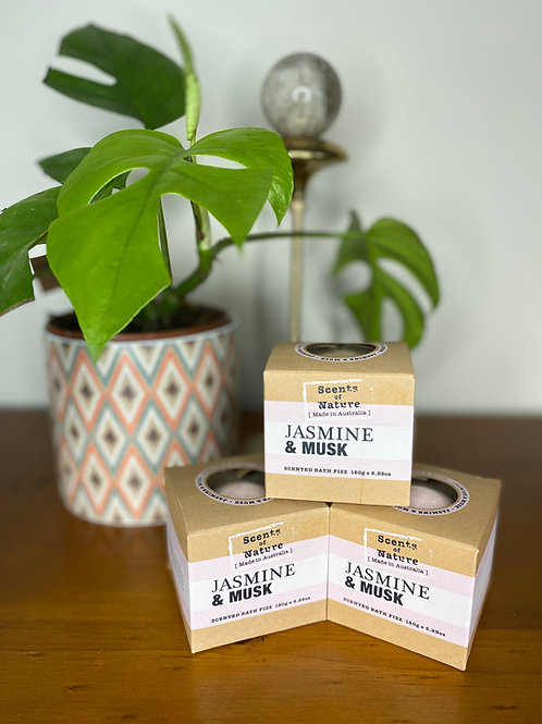 Scents of Nature Jasmine & Musk Bath Fizz