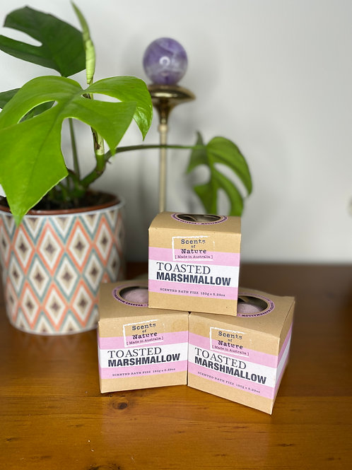 Scents of Nature Toasted Marshmellow Bath Fizz