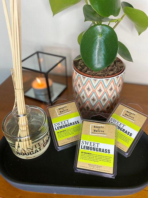 Scents of Nature Sweet Lemongrass Soy Wax Melts