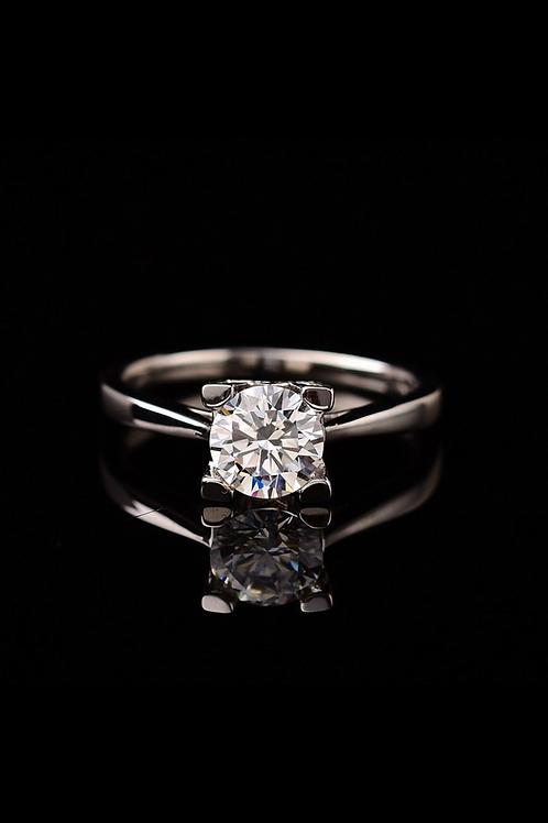 Moissanite Ring 1-2 carat
