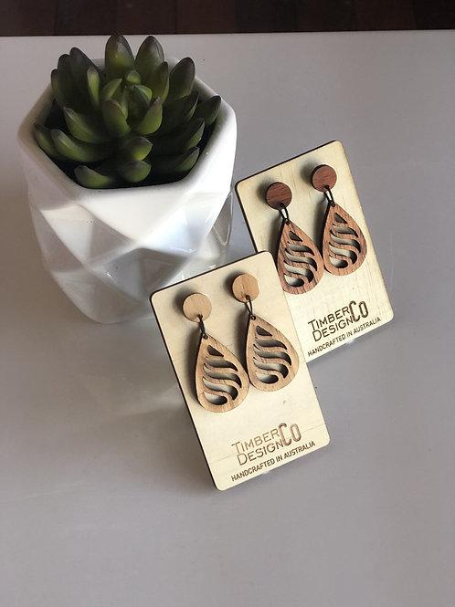 Timber Design Earrings