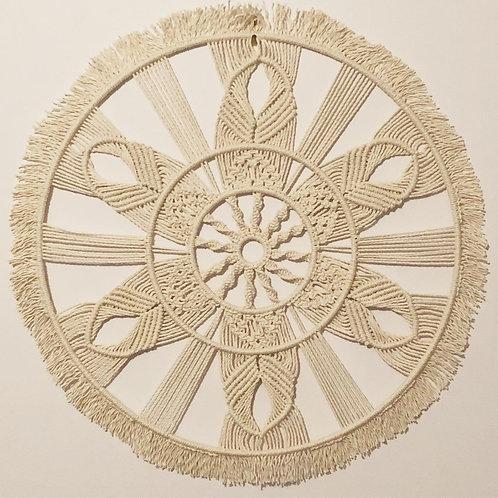 Mandala - Custom made Macrame