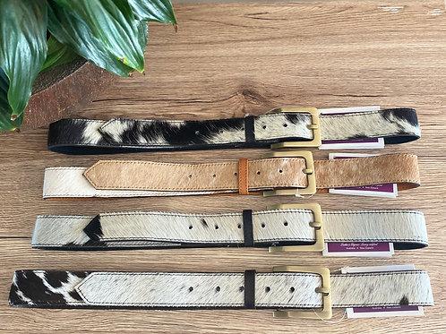 Ladies Large Leather Belts