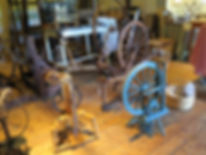 A variety of Spinning Wheels