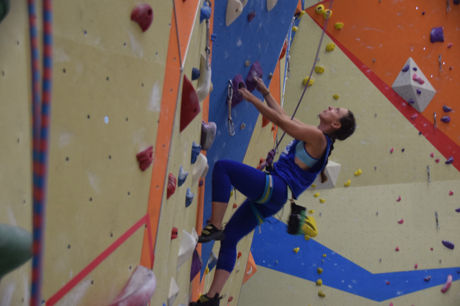 2016 Best Female V.I. Climber in the U.S.A.