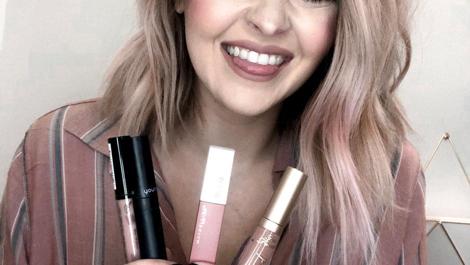 My Favorite Liquid Lipsticks