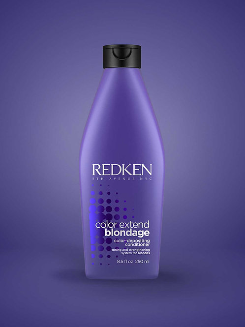 COLOR EXTEND BLONDAGE COLOR DEPOSITING CONDITIONER COLOR DEPOSITING PURPLE CONDI
