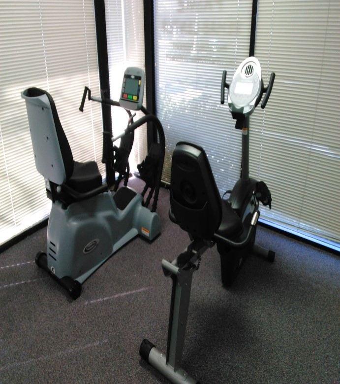 PhysioStep and cardio exercise equipment