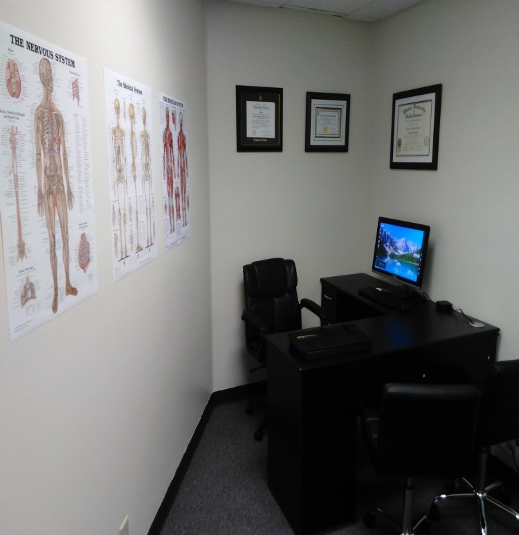 physical therapy exam room