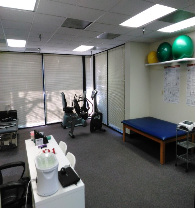 exercise therapy room