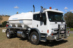 Water cartage for filling pools
