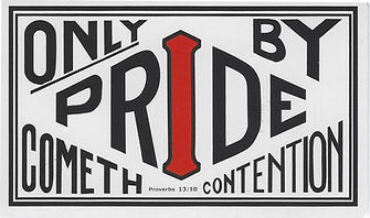Only By Pride