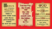 Christian Book Room 2019 Scripture Wallet Calendar