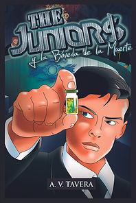The Juniors y La Boveda de la Muerte - Portada del Libro - The Juniors Saga