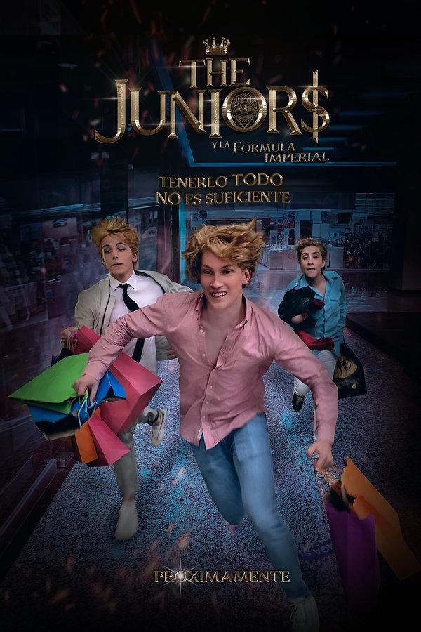 The Juniors y la Fórmula Imperial - Juniors y la Tarjeta robada