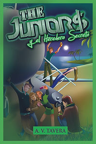 Portada Saga The Juniors y el heredero secreto
